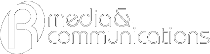 r media communications logo